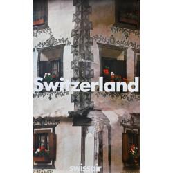 Kazujuki Kitamura. Swissair, Switzerland. 1982