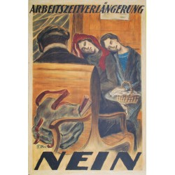 Florentin Moll. Arbeitszeitverlängerung Nein. 1924.