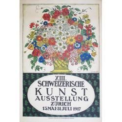 Henry-Claudius Forestier. Schweizerische Kunst Ausstellung Zürich. 1917.