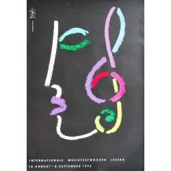 Celestino Piatti. Musikfestwochen Luzern. 1993.