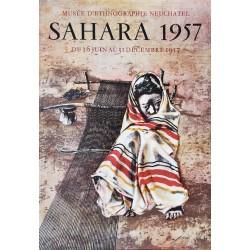 Hans Erni. Sahara, Musée d'ethnographie. 1957.