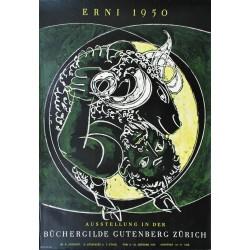 Hans Erni. Exposition Hans Erni, Zurich. 1950.