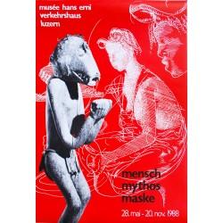 Hans Erni. Mensch Mythos Mask. 1988.
