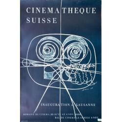 Hans Erni. Cinémathèque suisse, Lausanne. 1950.