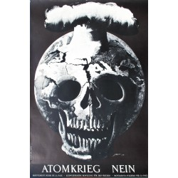 Hans Erni. Atomkrieg Nein. 1954.