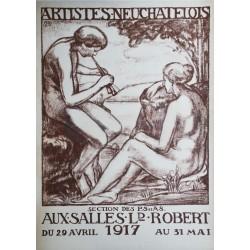 Alfred Blailé. Artistes neuchâtelois, Exposition, Neuchâtel. 1917.