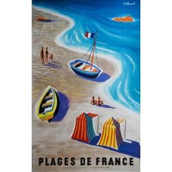 Bernard Villemot. Plages de France.
