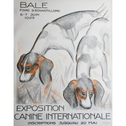 Ferdinand Schott. Exposition canine internationale, Bâle. 1925.