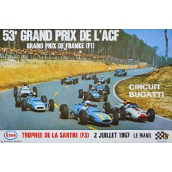 Delourmel. 53e Grand Prix de l'ACF, Grand Prix de France (ACF)., Le Mans. 1967.