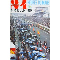 André Delourmel. 24 Heures du Mans. 1969.