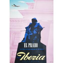 Iberia, El Prado. Vers 1950.