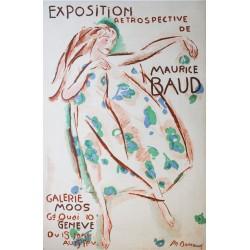 Maurice Barraud. Exposition Maurice Baud. 1916.