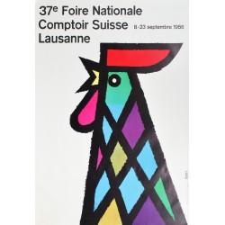 Celestino Piatti. Comptoir suisse, Lausanne. 1956.