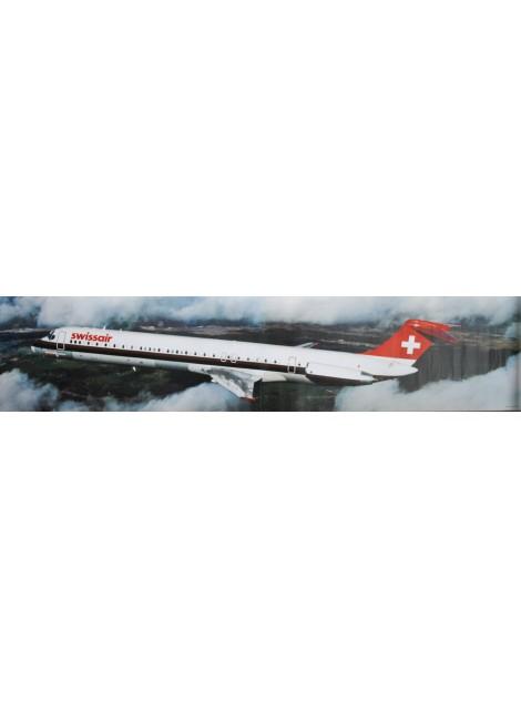 Swissair, McDonnell Douglas DC-9-81. 1981.