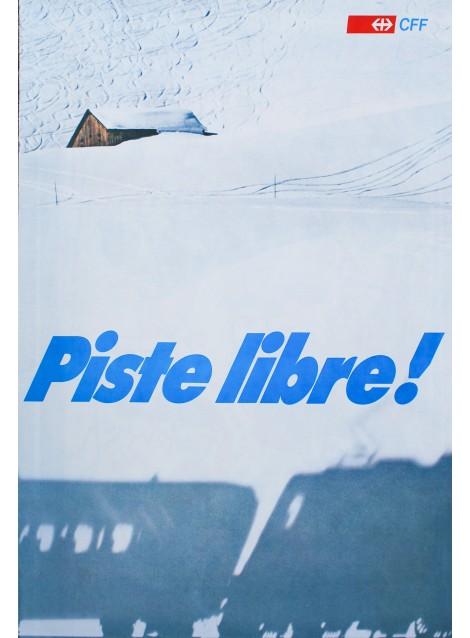 Hans Rausser. Piste libre. CFF. 1980.