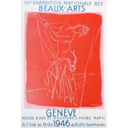 Maurice Barraud. Exposition des Beaux-Arts, Genève. 1946.