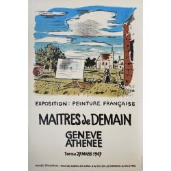 Roland Oudot. Maîtres de demain, Genève. 1947