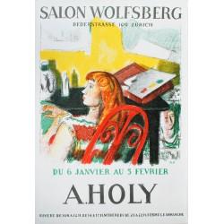 Adrien Holy. Ausstellung Salon Wolfsberg, Zürich. 1949.