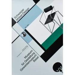 Werner Jeker. Schweizer Möbel-Design. 1986.