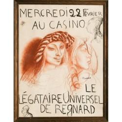François Barraud. Le légataire universel. 1922.