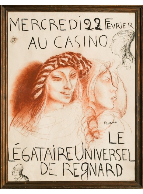 François Barraud. Aurèle Barraud. Le légataire universel. 1922.