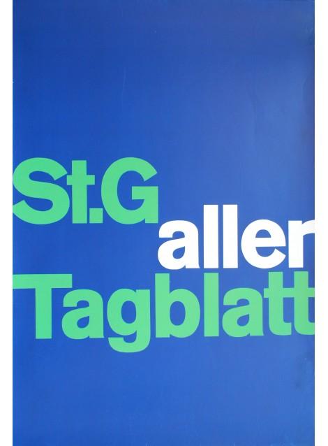 St. Galler Tagblatt. Vers 1972.