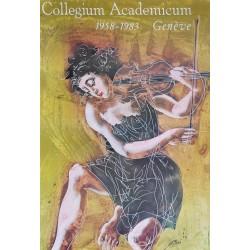 Hans Erni. Collegium Academicum Genève. 1983