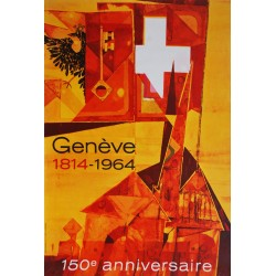 Michel Schüpfer. Genève 150e anniversaire. 1964.