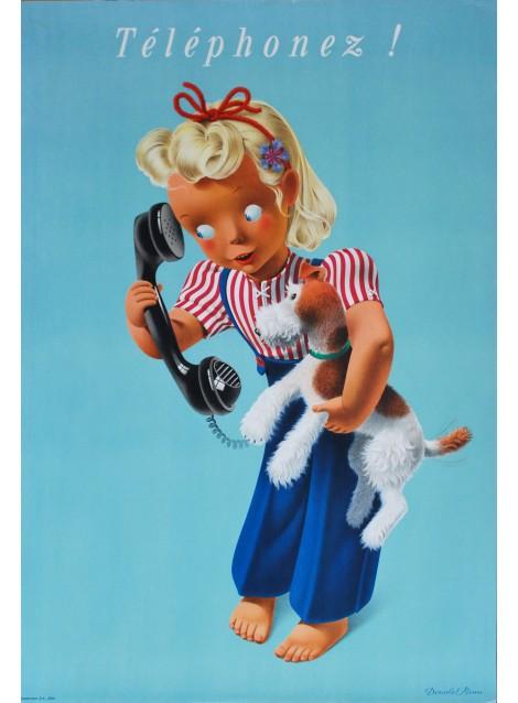 Donald Brun. Téléphonez ! 1946