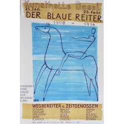 Charles Hindenlang. Der Blaue Reiter. 1950.