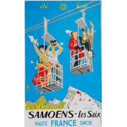 Paul Séchaud. Samoëns Sixt. Vers 1955.