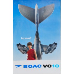 BOAC VC 10. 1966.