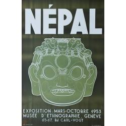 Philippe De Chastonay. Népal. 1953.