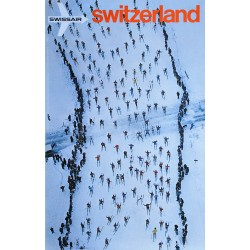 Swissair, Switzerland. Georg GERSTER. 1971.