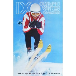 Fred Lindholm. IX Olympic Winter Games. Innsbruck 1964.