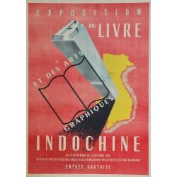P. Rinchard. Exposition des arts graphiques en Indochine. 1945.
