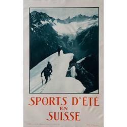 SPORTS D'ETE EN SUISSE, GYSI, 1930