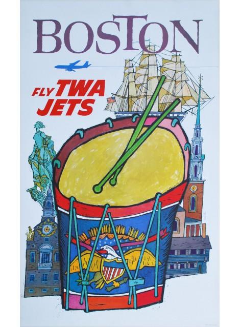Boston, TWA. David Klein. 1960.