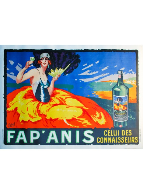 Delval. Fap'Anis. Vers 1920.