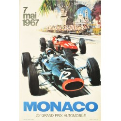 Michael Turner. Grand Prix de Monaco. 1967.