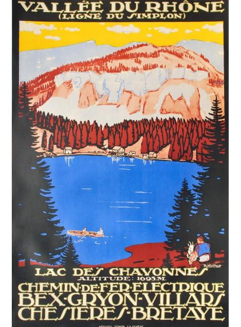 René Michaud. Bex - Gryon - Villars - Chesières - Bretaye. 1930.