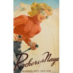 ROCHERS DE NAYE, HERBERT LIBISZEWSKI, 1948