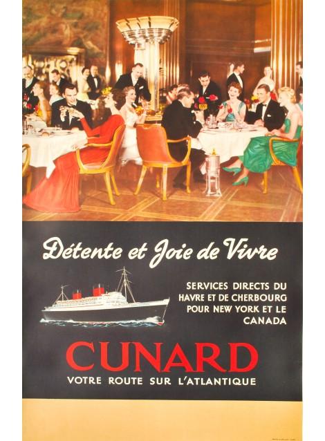Cunard, votre route sur l'Atlantique. 1939.