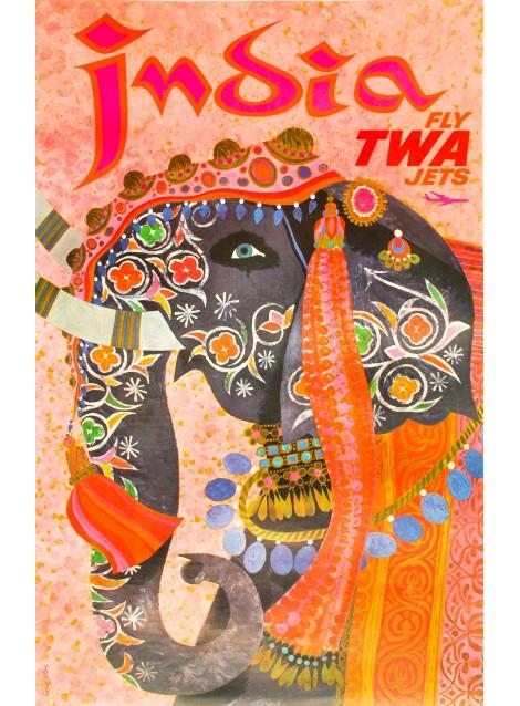 David Klein. India. 1960.