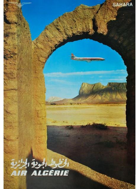 Air Algérie. Sahara. 1960.
