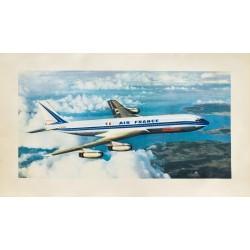 Air France. Boeing 707. 1959.