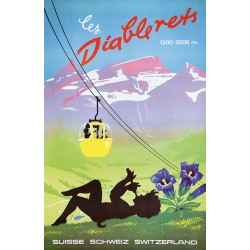 Les Diablerets. Vers 1975.