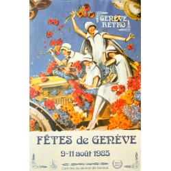 Fêtes de Genève. Genève Rétro. 1987.