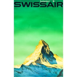Emil Schulthess. Swissair Switzerland. 1964.
