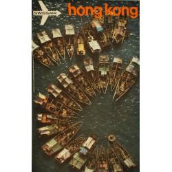 Hans Frei. Swissair Hongkong. 1972.